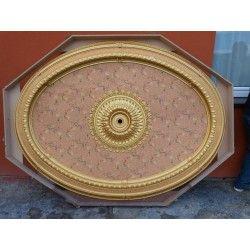 ROZETA SUFITOWA w owalu! 210 x 150 cm