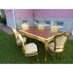 Komplet *DO SALONU* stół+ 6 krzeseł !! zerknij