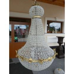 Duża LAMPA - ŻYRANDOL !! *grucha* 110 cm